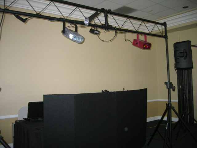 Wedding DJ Wedding Reception Setup